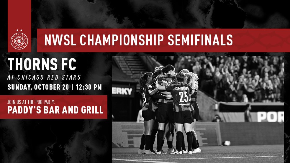 Not heading to Chicago for our semifinal? Come watch with us at Paddy's Bar and Grill! #BAONPDX<br>http://pic.twitter.com/g55yYFrLy0