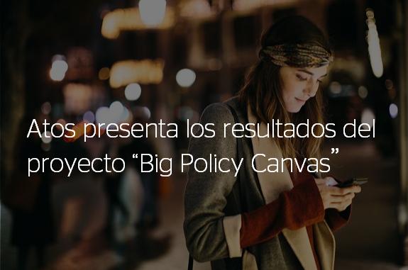 ¡Orgullosos de presentar los resultados del proyecto @BigPolicyCanvas para apoyar y...