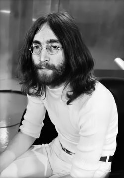 John Lennon - The #Beatles via @heltersketcher