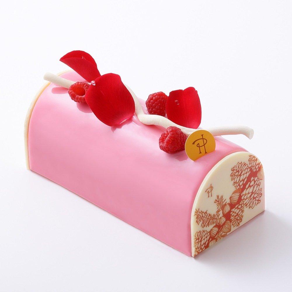 """ピエール・エルメ・パリのクリスマス、ローズ&ライチ香る「イスパハン」や""""雪の結晶""""ケーキ -"""