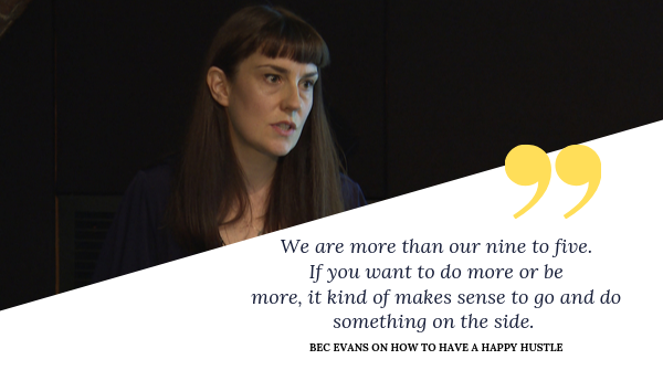 Hear @Eva_Bec talk about how to have a happy side hustle in our latest #RSAspotlight 🏆http://bit.ly/329drCB