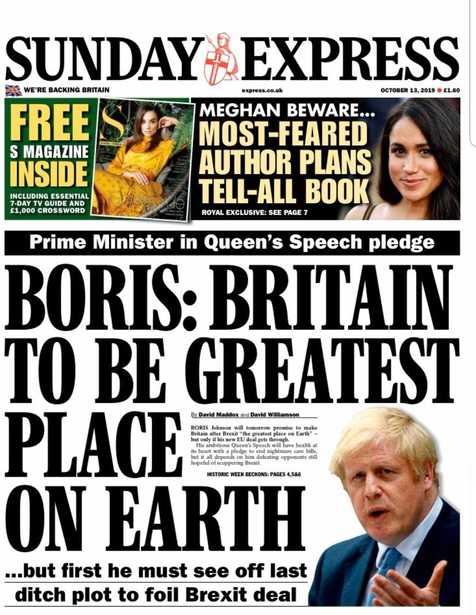 They should make the Express black and white so their readers can colour it in with crayons. That's about the level they're pitching to.