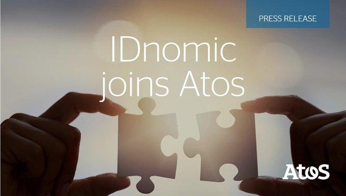 La adquisición de @IDnomic refuerza el liderazgo global de @Atos en #Ciberseguridad https://t.c...