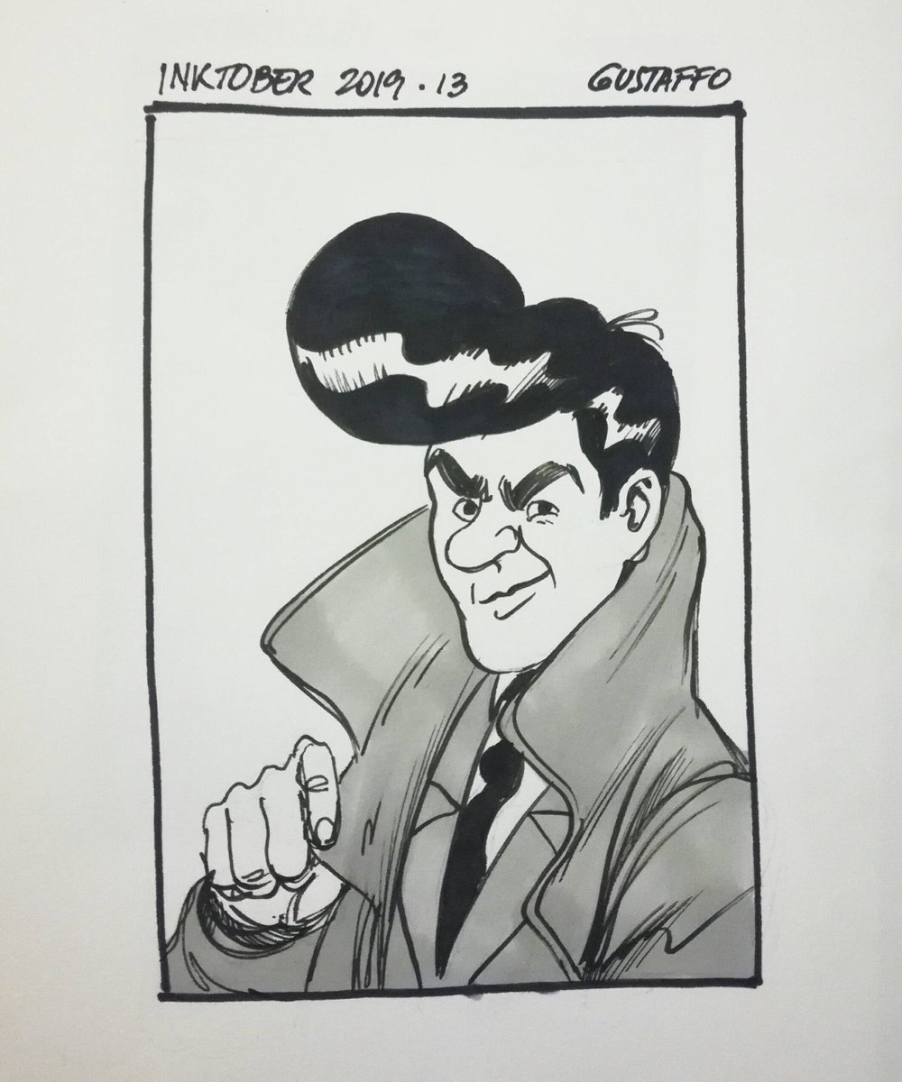 Day 13th!!! Jimmy from @nickprolix Slang Pictorial book! One of the best comic strips you will ever find! #inktober #inktober2019 #comics #slang