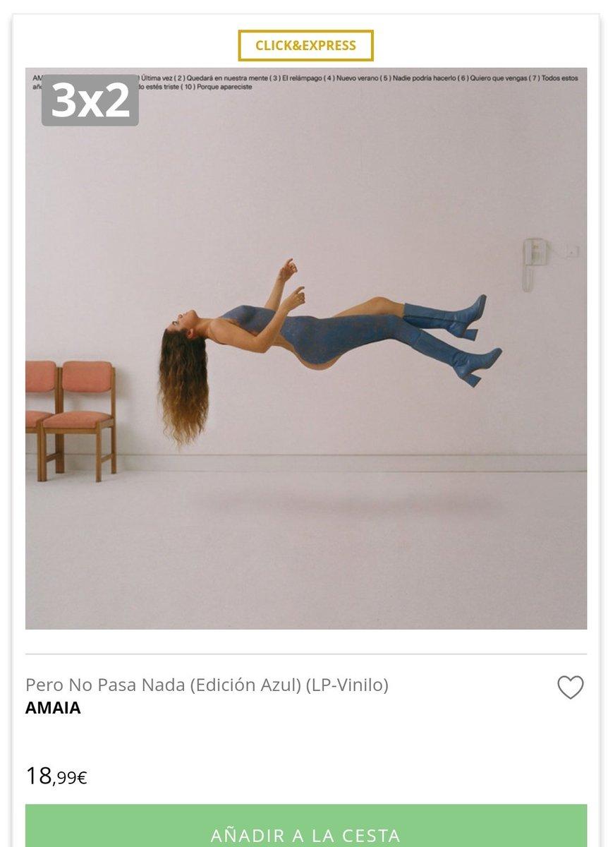 Amaia On The Brain On Twitter Oferta Disponible En Todos Los Vinilos Del Catágolo De El Corte Inglés