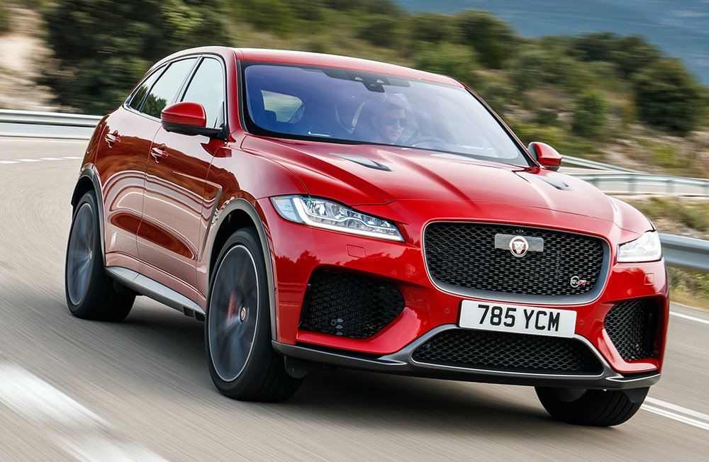 Give your Sunday drive that Friday feeling. Explore Jaguar F-PACE SVR: https://t.co/yQQTHd7xxl https://t.co/Dypa7um7Rf
