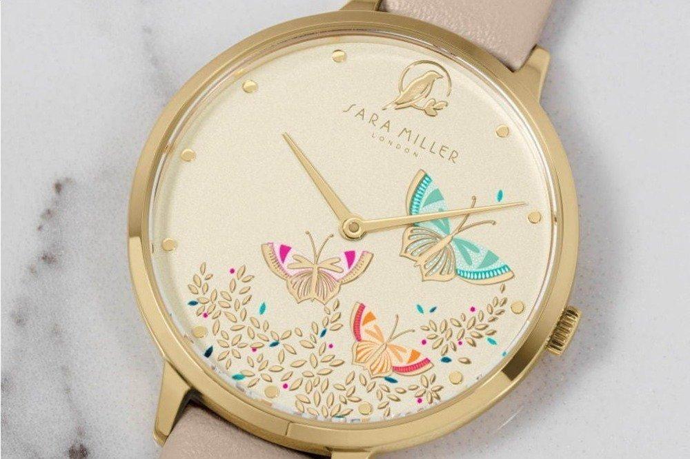 """英国発「サラミラーロンドン」""""蝶が舞う""""新作腕時計、ロンドンの世界遺産キューガーデンに着想 -"""