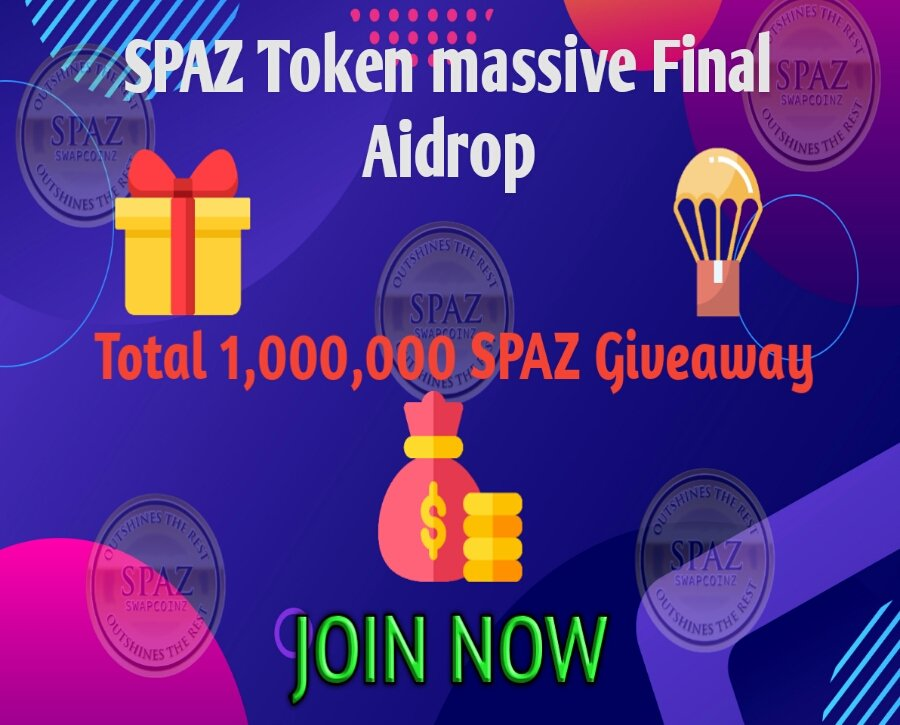 SPAZ Token massive Final Aidrop