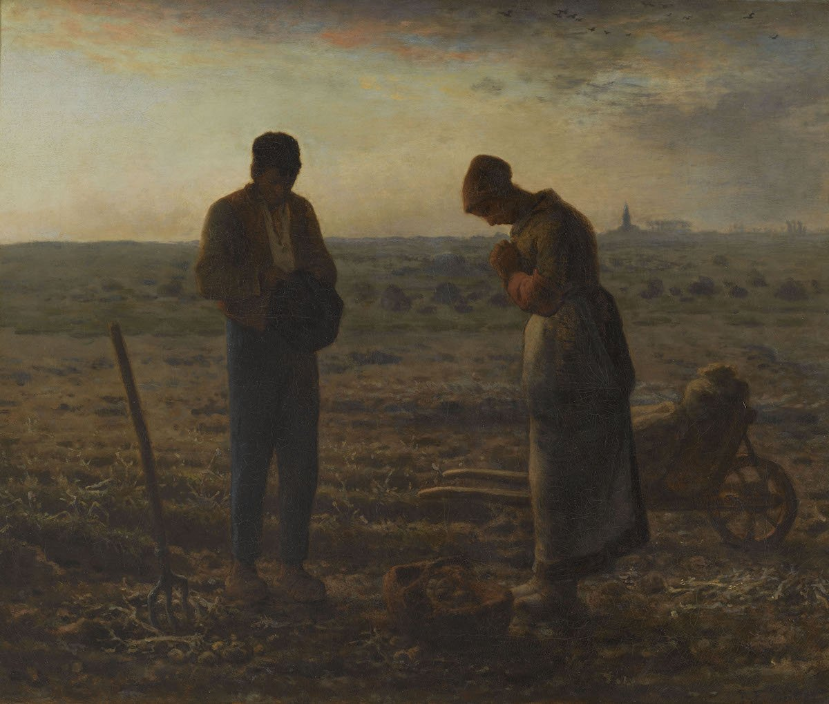 How much did this painting by Millet cost? In 1889 it was auctioned for the highest amount ever paid for an artwork at the time! Many artists were inspired by this work, including Salvador Dalí & Edvard Munch. The Angelus on display in NL for the 1st time: vangogh.nl/s6oT50wAvdV