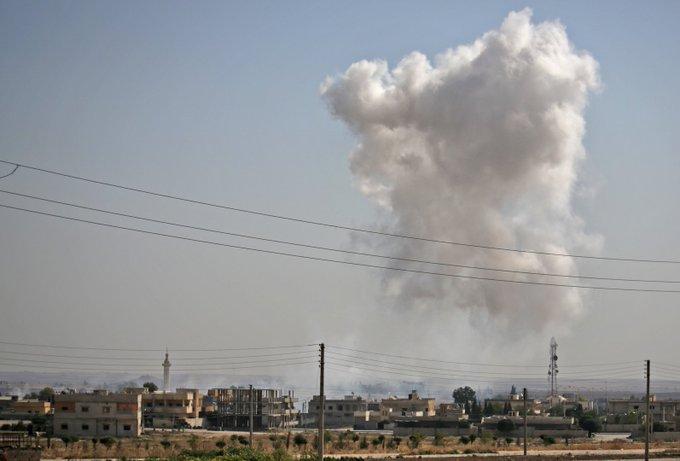 Moscou espère pouvoir tirer profit de l'offensive turque dans le Nord syrien EGw9sloWwAISbCh?format=jpg&name=small
