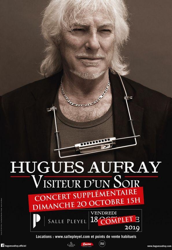 RT @Fimalac_ent: Le concert de Hugues Aufray de ce vendredi à la @sallepleyel est complet, réservez vite votre place pour la date supplémen…