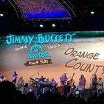 Image for the Tweet beginning: Buffett performs in Anaheim CA
