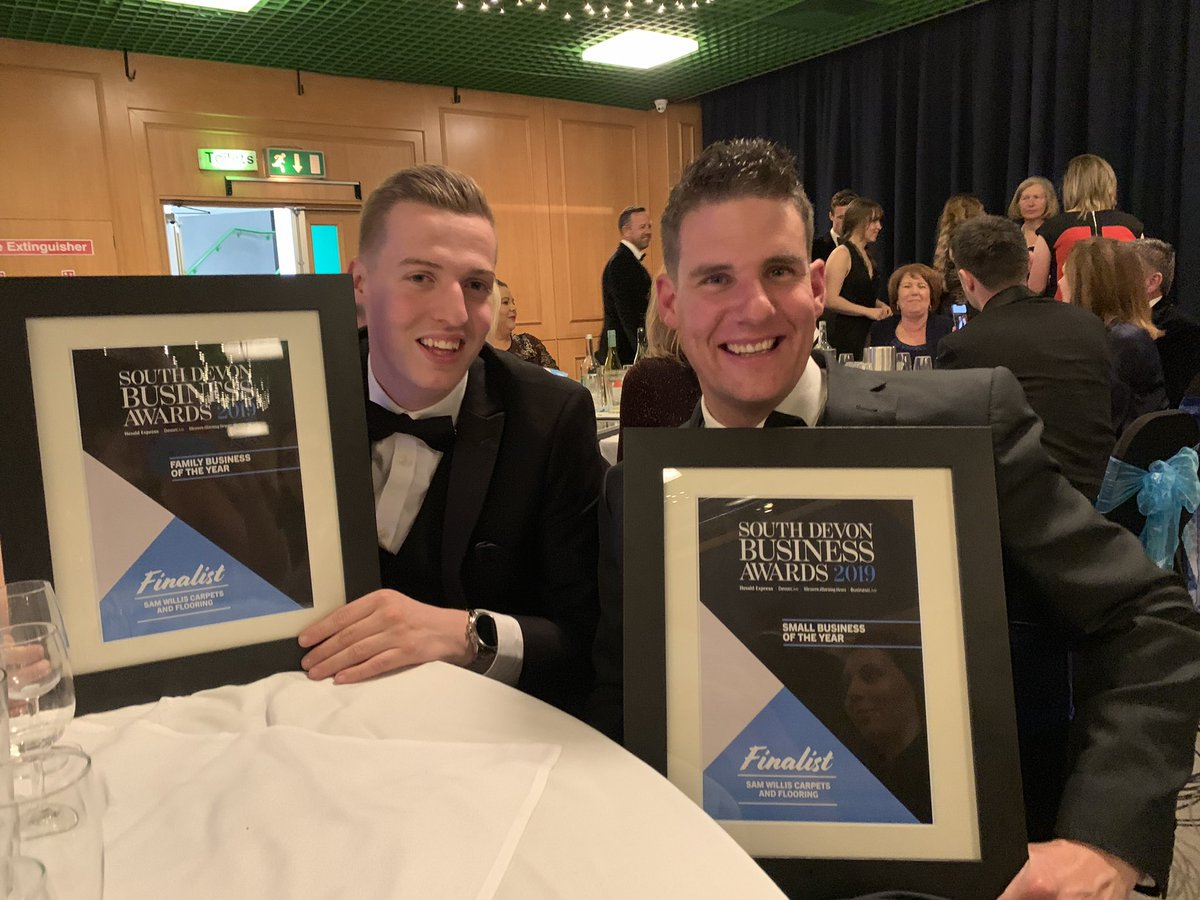 Proud to have been 2 x finalist in south Devon business awards @thenicf @Paigntonpeople @SpottedTorquay #SDBA19