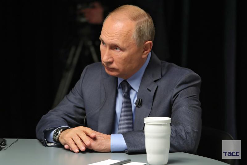 Путин заявил, что Россия поддержит любую сделку для примирения Палестины и Израиля: go.tass.ru/A54r