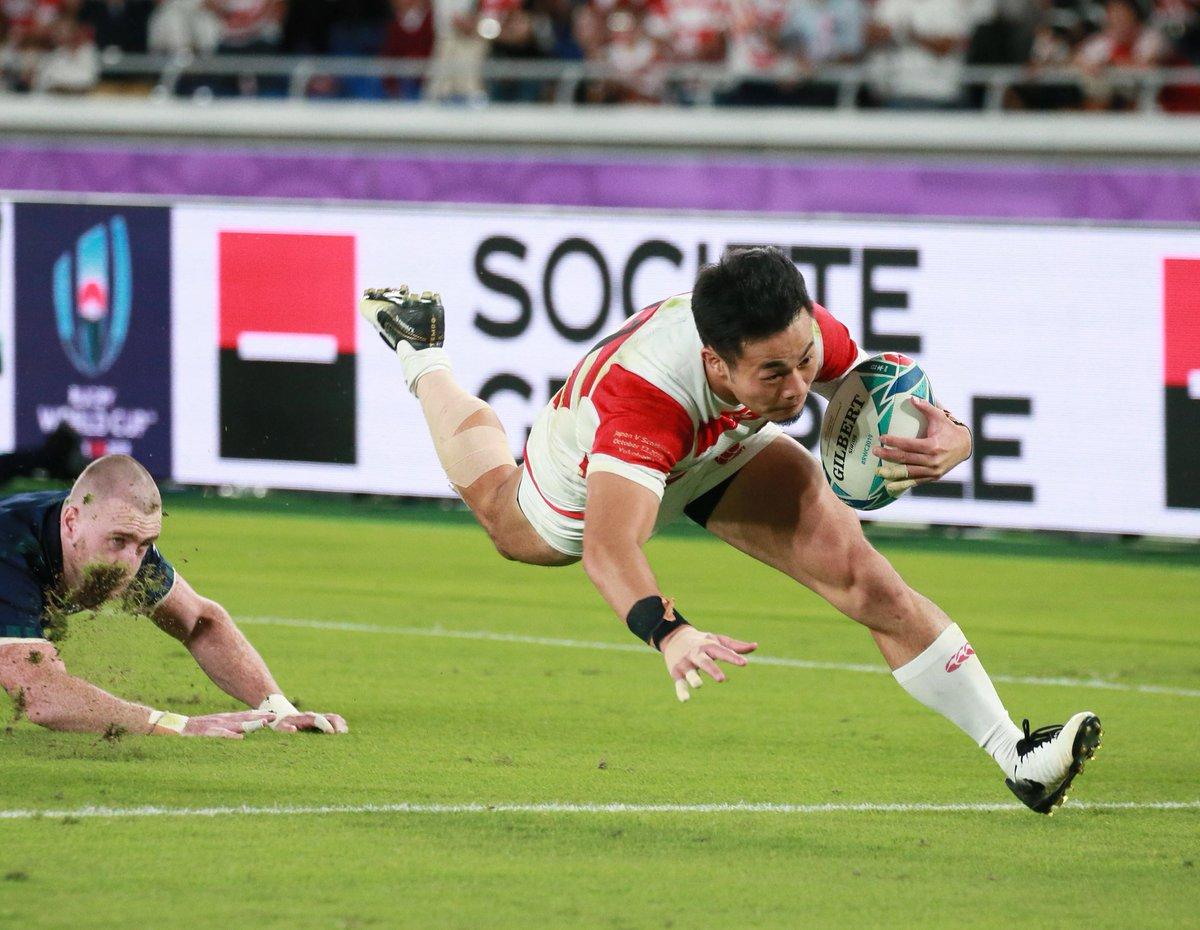 かっこよすぎる日本代表! 前半の素晴らしいシーンをどうぞ#ラグビーワールドカップ #RWC2019#RWC横浜#JPNvSCO