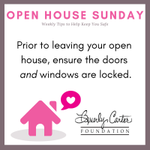 Have a safe open house today, friends! #realtor #safety #realtorsafety #openhouse #openhousesafety