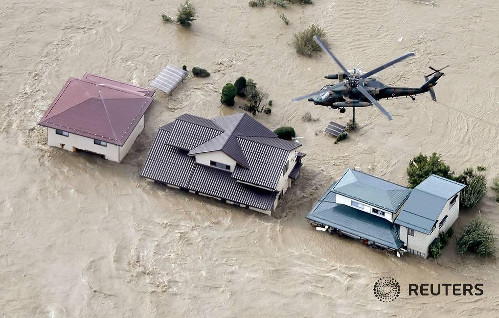 Число жертв тайфуна Хагибис в Японии увеличилось до 33, сообщают СМИ. Еще 19 человек числятся пропавшими без вести: go.tass.ru/A5On