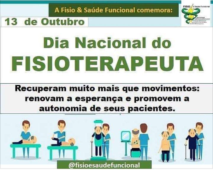 Parabéns para todos os #Fisioterapeutas  #Fisioporamor  #Fisiocomamor #Fisioloucos