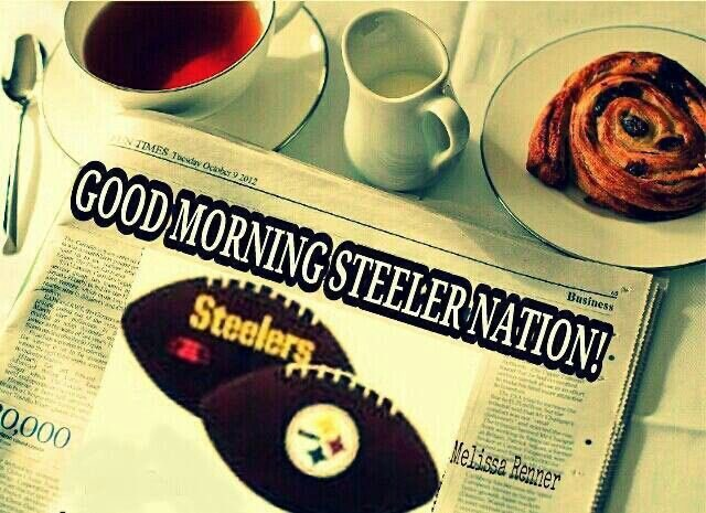 Good morning steelernation! Hope everyone slept well. Make it a great day. God bless. One love. Be cool. <br>http://pic.twitter.com/H0BNOftE3u