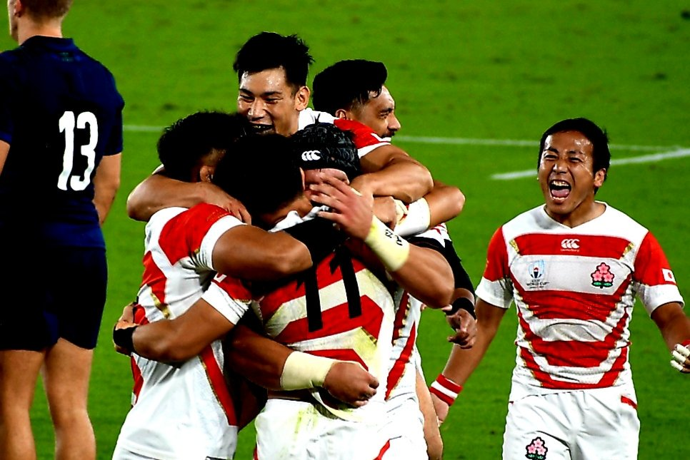 #RWC2019<プール第4戦>試合終了日本代表 28-21 スコットランド代表日本代表 決勝トーナメント進出
