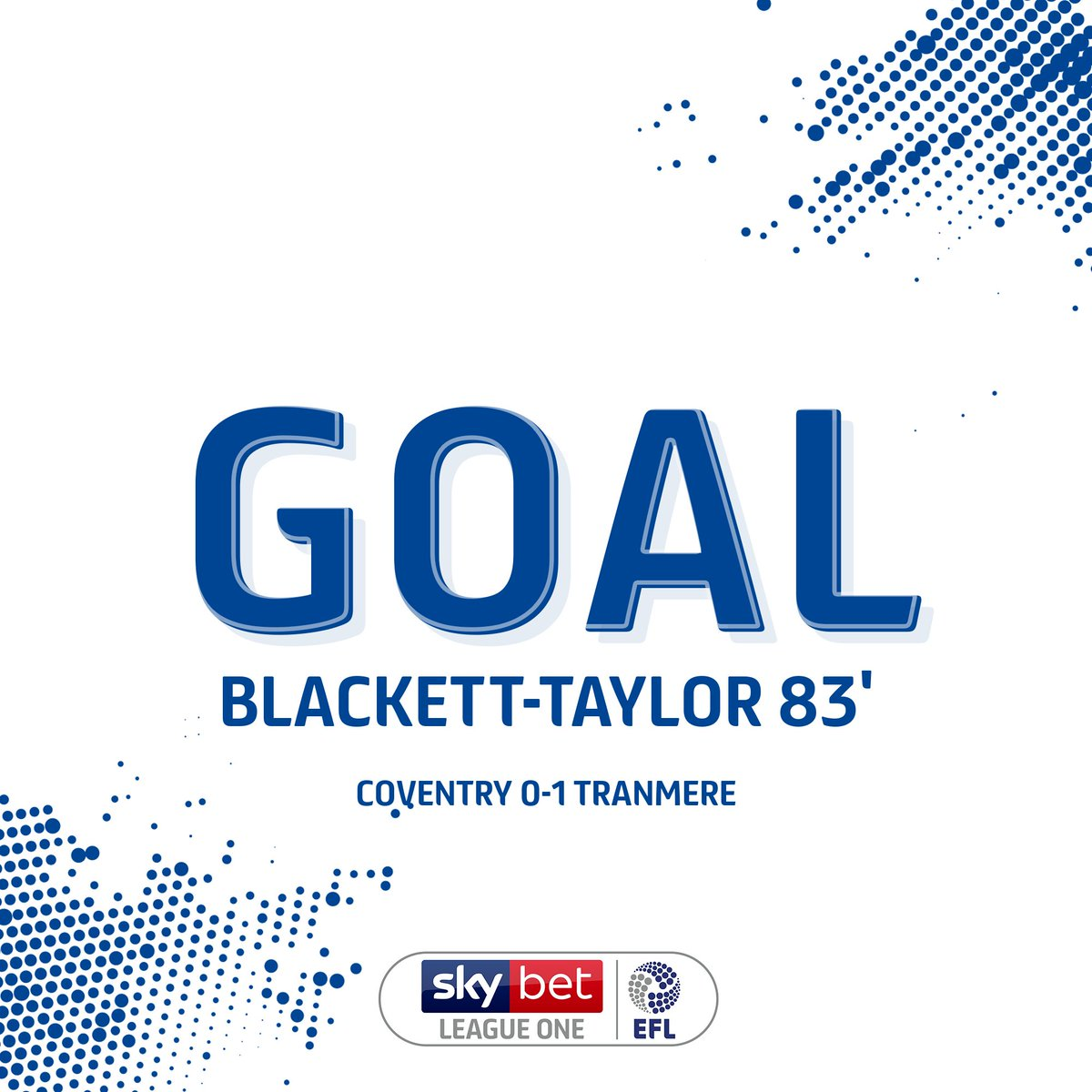 GOAL! @TranmereRovers break the deadlock late on! Could that be the winner? #EFL | #TRFC