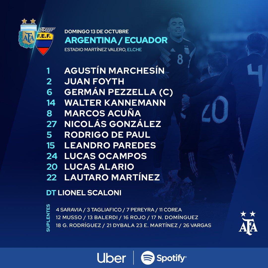 Onze Argentine