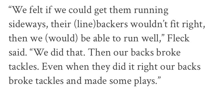 PJ Fleck Has A Telling Comment On Nebraska's Defense