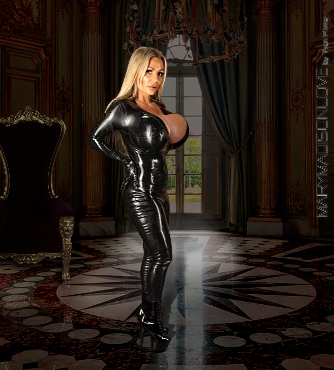 Mary ... Im not really a fan of latex, but on you .... it takes another dimension! Your body, your curves are so perfect! ... you are incredibly beautiful! Check out Marys latest photos at the London Fetish party on onlysfans.com/marymadison and on patreon.com/marymadisonlove #latex