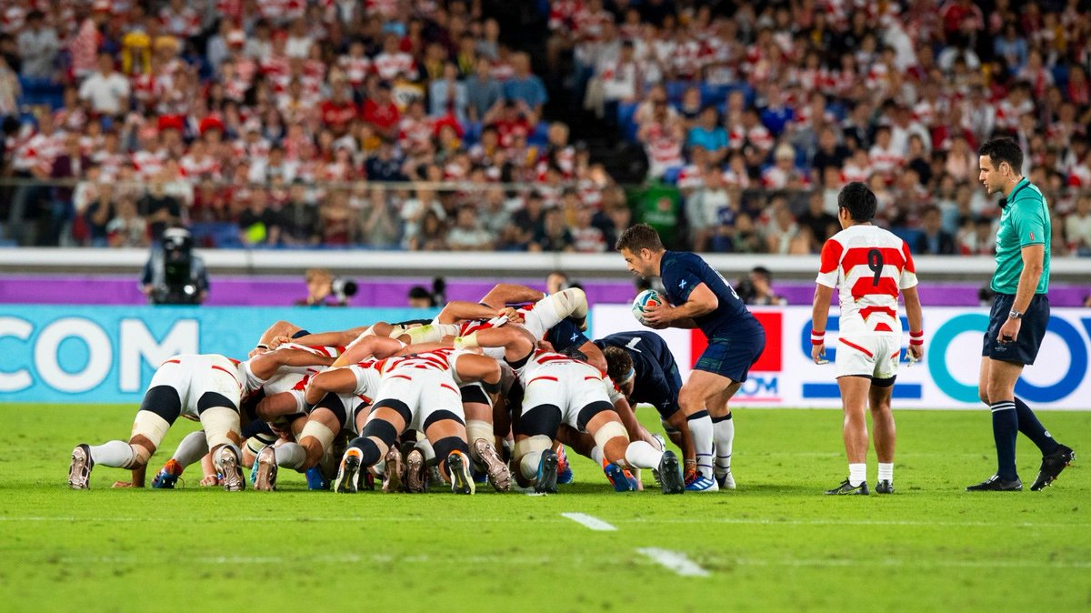 🗞️REPORT | Japan progress to the #RWC2019 Quarter Final after a 28-21 victory against Scotland in Yokohama. ➡️scottishrugby.org/fixtures-and-r…