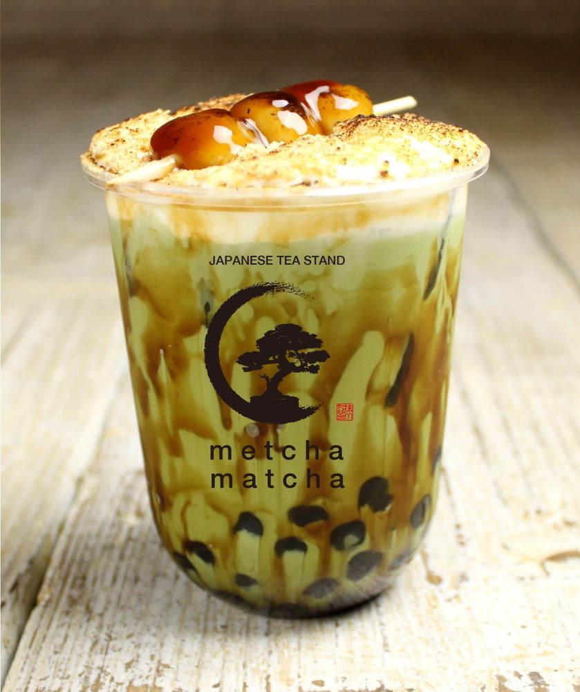 日本茶スタンド「メッチャマッチャ淀屋橋」大阪に、わらび餅タピオカや白玉タピオカの抹茶ティーなど -