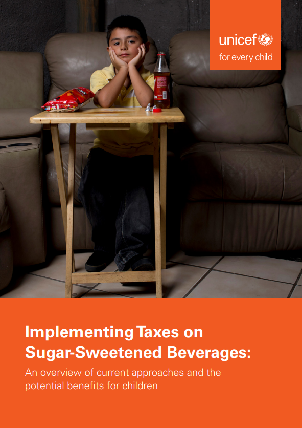 "UNICEF explores experience from countries that have implemented ""soda taxes"" to prevent childhood overweight, including France, Mexico, Hungary Norway: @UNICEFmedia @UNICEFInnocenti  https://gallery.mailchimp.com/fb1d9aabd6c823bef179830e9/files/08e73191-c279-4179-b54b-e7f79c217432/190328_UNICEF_Sugar_Tax_Briefing_R09.pdf …"