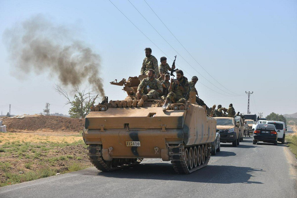 Syrian army begins to move troops to 'confront' Turkey in northern Syria: state media