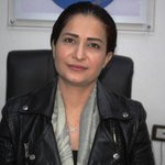 Image for the Tweet beginning: This woman, Hevrin Khalaf, was