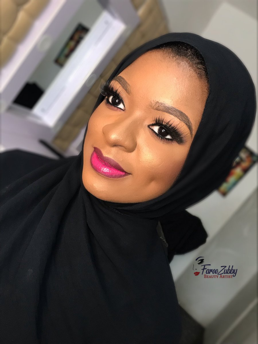 Makeup playdate with this beauty. What are you still waiting for. Come get your makeup done. Location: Abuja Head over to @fareezubby on Instagram  Retweet please my customer is on your timeline.<br>http://pic.twitter.com/mzVTr13gIc