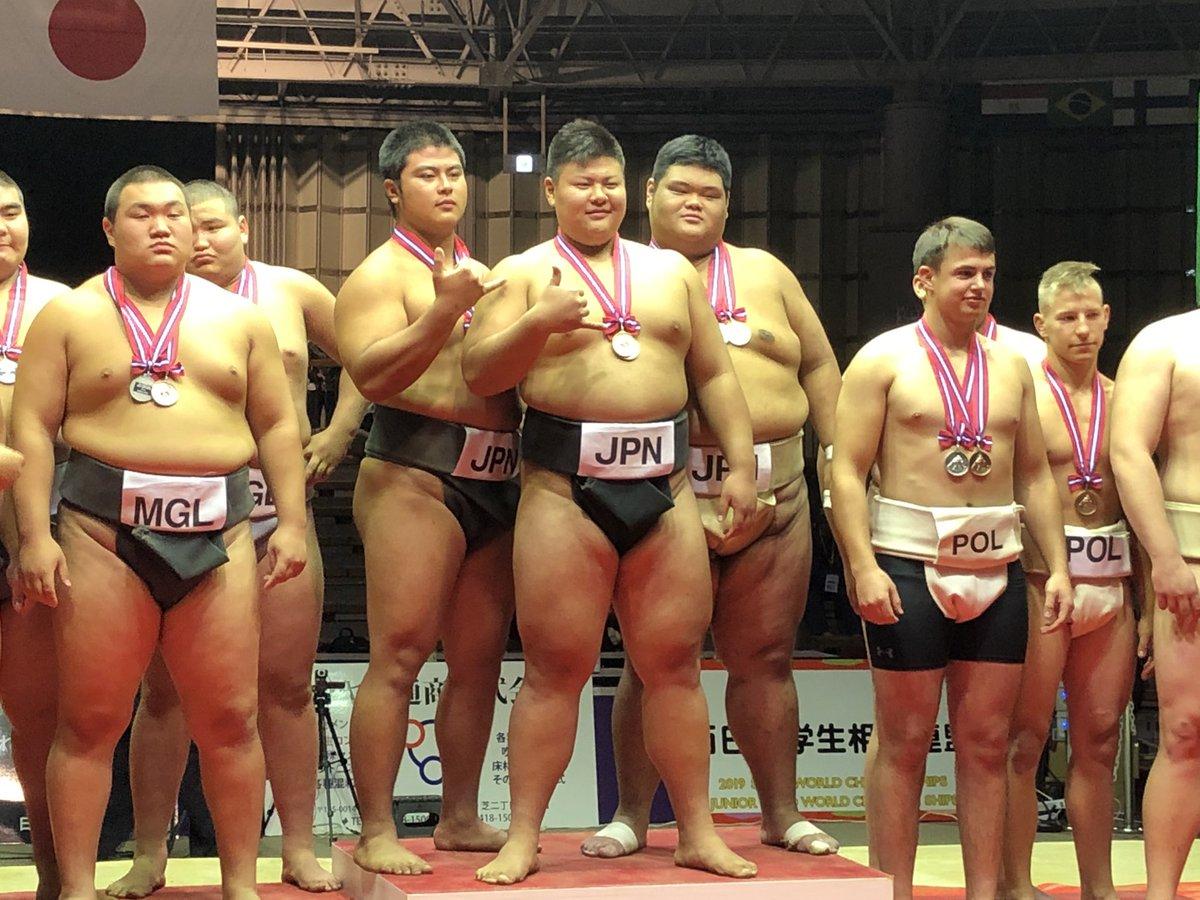 """tnkyk sumo Twitterissä: """"世界ジュニア相撲選手権大会 世界ジュニア ..."""