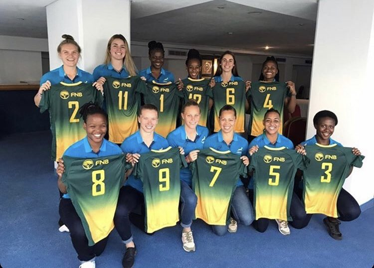 Good luck to the Springbok Women's Sevens team. CUP FINAL: 🤝- SA 🇿🇦vs Kenya 🇰🇪 ⏰- 17:30 📺 - Live on the FB page of @RugbyAfrique 🏆- The Rugby Africa Women's Sevens title. @WomenBoks