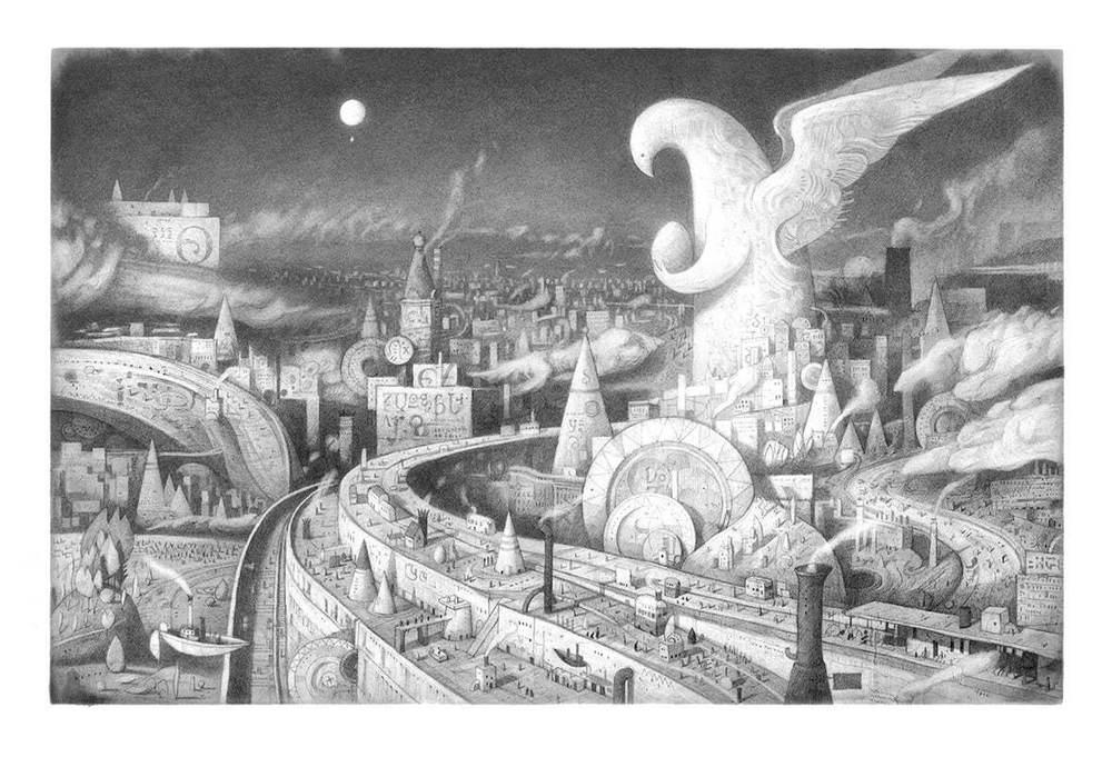「ショーン・タンの世界展 どこでもないどこかへ」美術館「えき」KYOTOで、絵本の原画など約130点 -