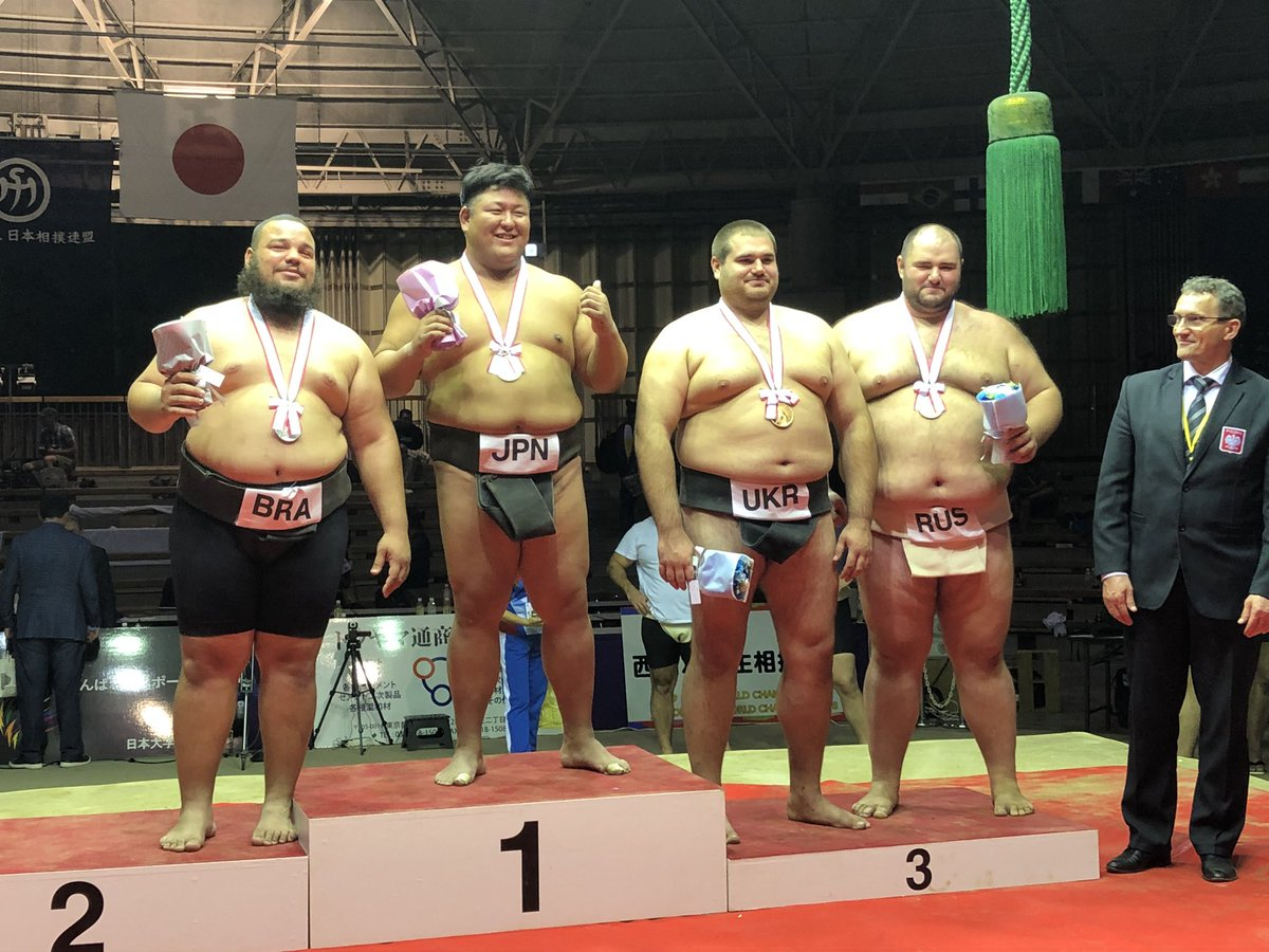 """tnkyk sumo on Twitter: """"2019 世界相撲選手権大会 重量級決勝 https ..."""