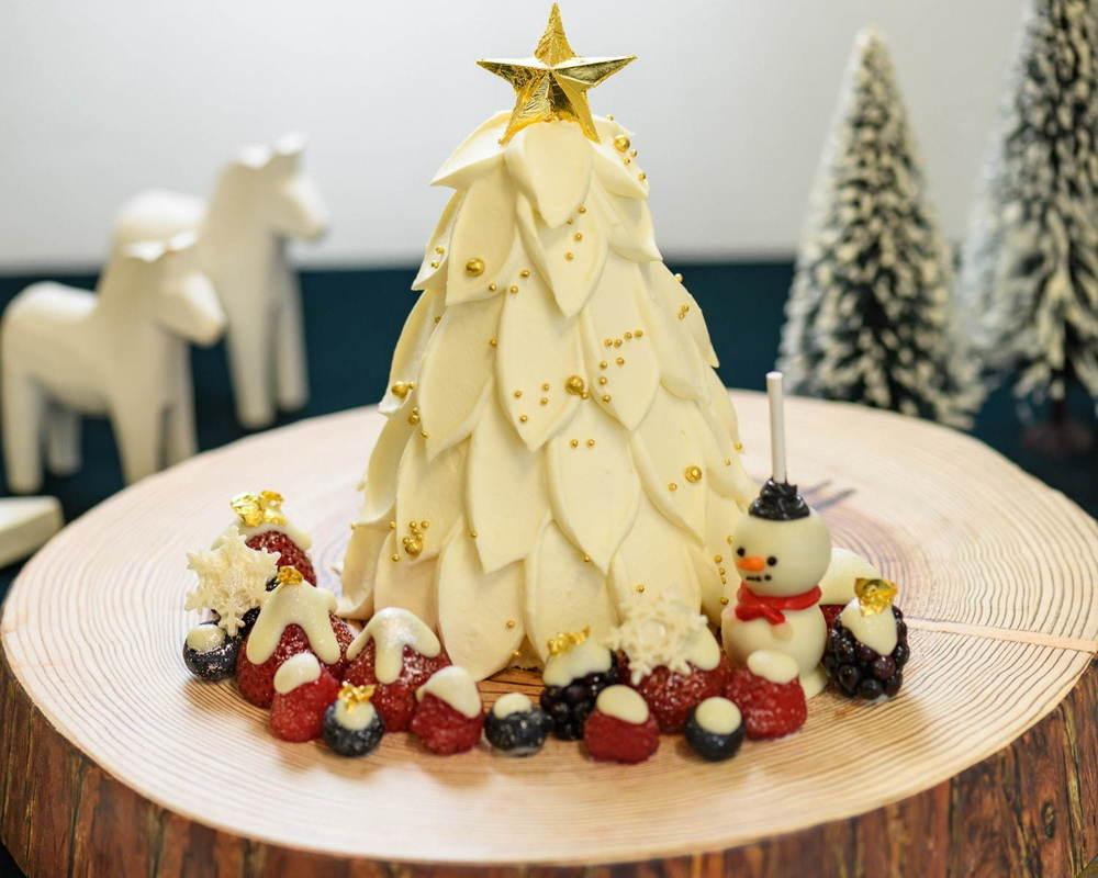 「渋谷ヒカリエ シンクス」のクリスマスケーキ、ピエール・エルメ・パリやサダハル・アオキなど約30種 -