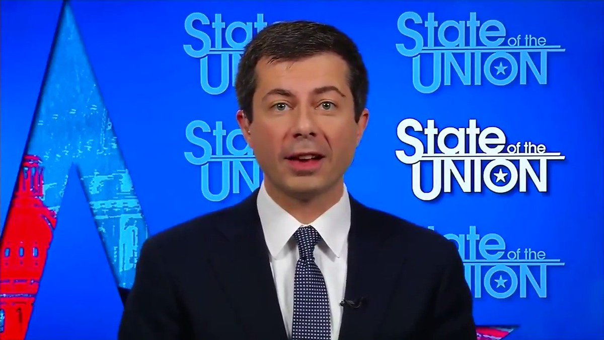 "Image for the Tweet beginning: Pete Buttigieg: ""You look at"