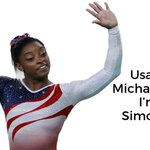 Image for the Tweet beginning: Congratulations to @Simone_Biles who just