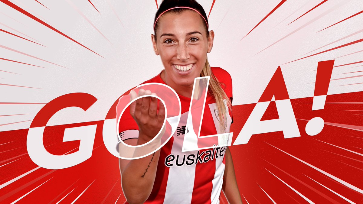 88 GOAL BY ATHLETIC! ⚽️ @mdiazcirauqui scores after @AneAzkonas assist! 0-2 | #RealSociedadAthleticClub #AthleticClubFem 🔴⚪️🦁
