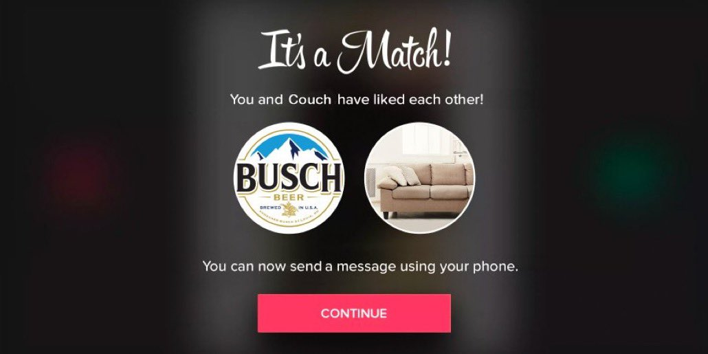 Replying to @BuschBeer: We could see this working out for the long term.