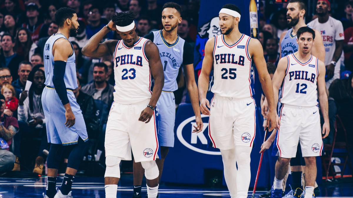 Buen momento para hablar de la nueva plantilla de #Philadelphia  esta temporada en la #NBA . ¿Os gusta? ¡Lo contamos en @AirballTJ !  Sintoniza el programa en  http://www.radio.timejust.es  , la #App  de @TimeJustOficial  o @tunein