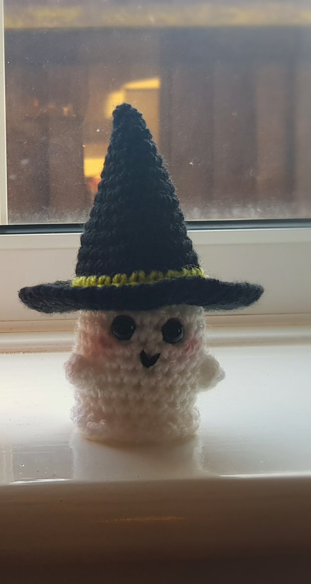 ♥ Amigurumi Witch Ghost (With images) | Halloween crochet ... | 1199x640