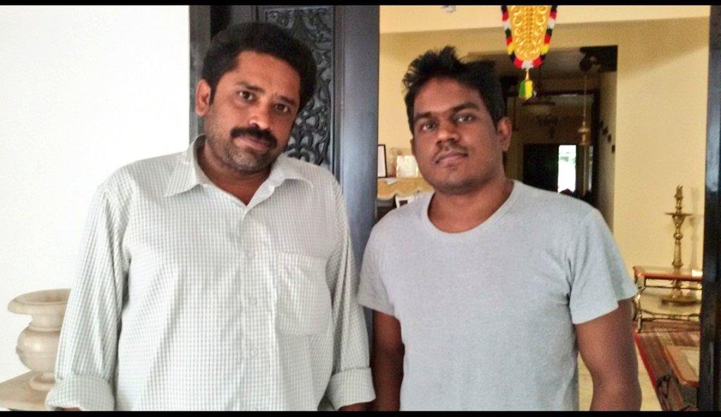 Wishing our director @seenuramasamy sir, a wonderful birthday. Have a Blockbuster year ahead sir 😊  - Team @YSRfilms | @thisisysr @irfanmalik83 https://t.co/ykHdF0hLG2