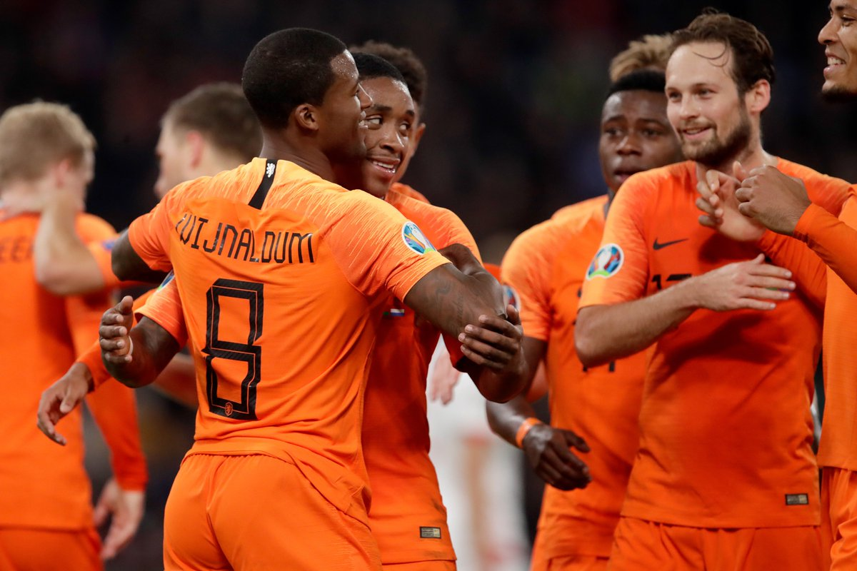 ⚽️Most goals for @OnsOranje since Ronald Koeman appointed in February 2018⚽️ 1⃣1⃣ Memphis Depay 7⃣ GEORGINIO WIJNALDUM 4⃣ Ryan Babel 4⃣ Virgil Van Dijk
