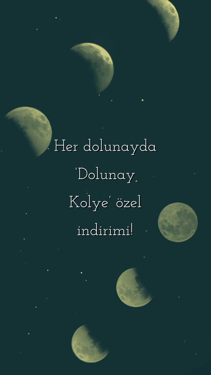 Bugün gökyüzünde #dolunay var ! O yüzden 'Dolunay Kolye' indirimde sadece 20₺! Gece yarısına kadar indirim devam edecek :) #kolye #indirim #hediye #pazar  http://www.rengalux.com/dolunay-kolye