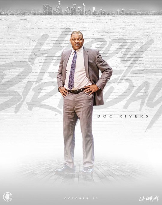 Wishing the one and only Doc Rivers a happy birthday!