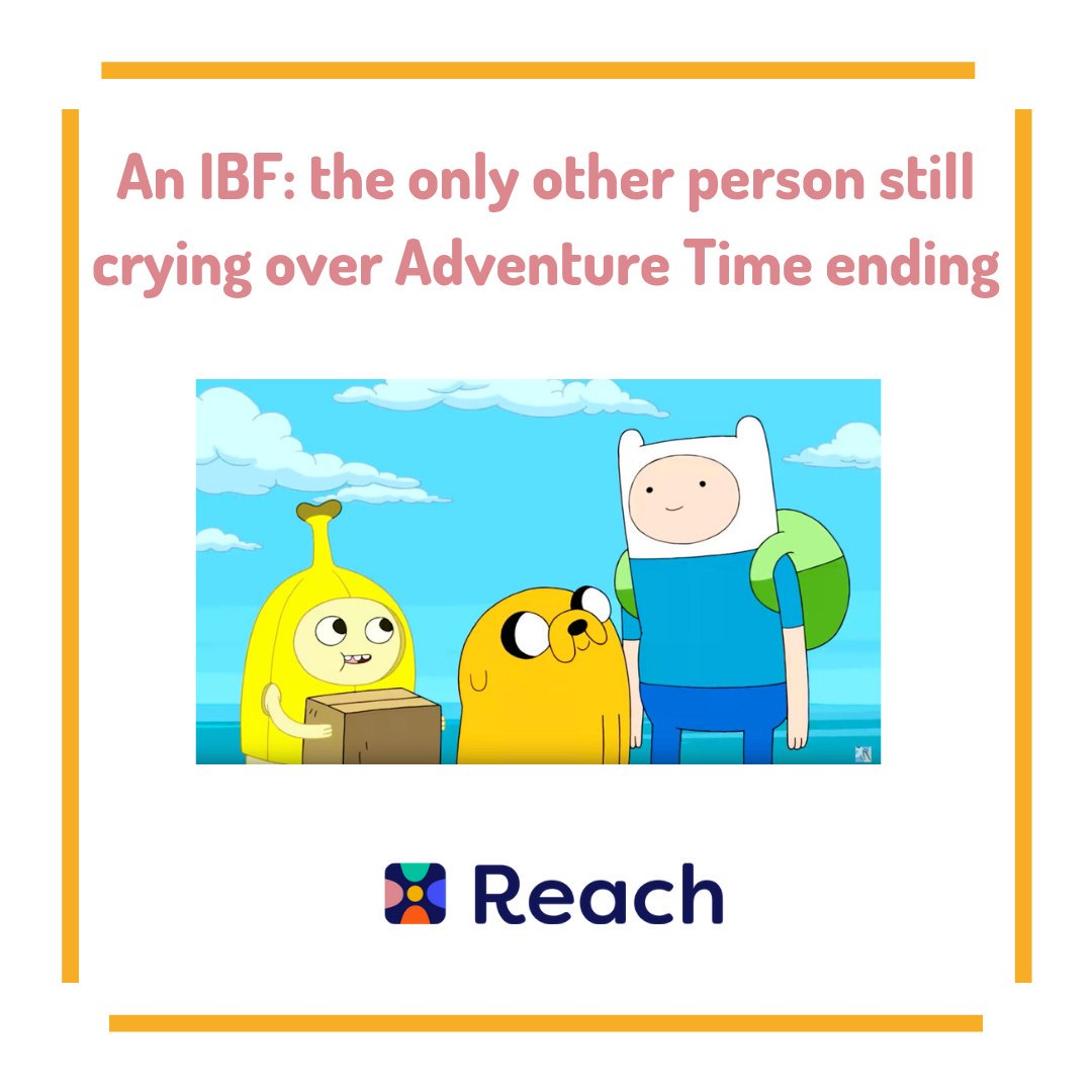 Does your IBF just get you?  Tag your #AdventureTime loving IBF below #Reach #IBF #ReachYourIBFs #IBFgoals #InternetBestFriendspic.twitter.com/Zi5O32a9Es